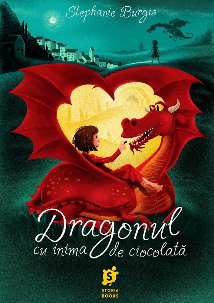 Stephanie Burgis · Dragonul cu inima de ciocolată